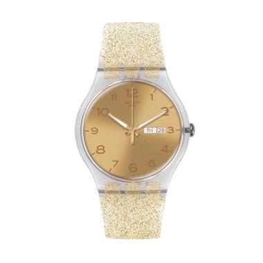 Swatch SUOK704 Casual Rosegold Jam Tangan Wanita