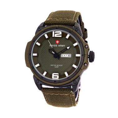 Swiss Army SA4081 Jam Tangan Sport Pria- Green