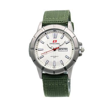 Swiss Army SA 711446 AD Jam Tangan Pria - Green