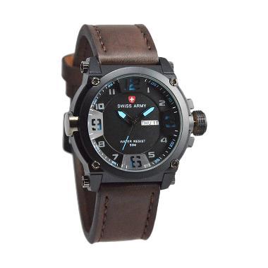 Swiss Army [SA 005A] Jam Tangan Pria - Coklat