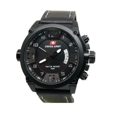 Swiss Army SA7169 Jam Tangan Pria - Black