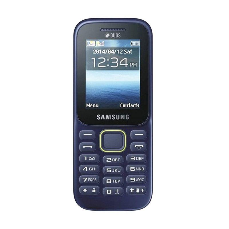 Samsung B310E Biru Handphone