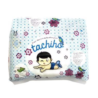 Tachiho Baby Diapers Velcro Taped Popok Bayi [Size M/20 pcs]