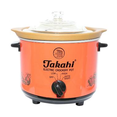 Takahi TK.1188HR Slow Cooker Heat Resistant [1.2 Lt] Red
