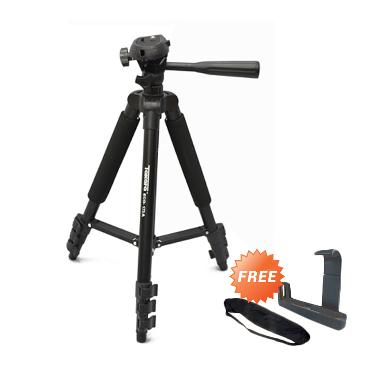 Takara Eco-173a Tripod + Free Holder L Medium dan Tas Tripod