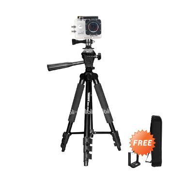 Takara Eco-173A Tripod With Pouch or Tas & Holder U Smartphone