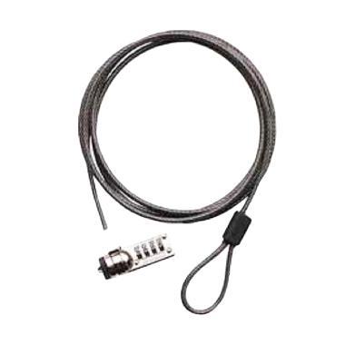 harga Targus PA410B Defcon CL Laptop Cable Lock Blibli.com