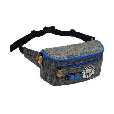 Tas Klub Bola Manchester City Waist Bag Tas Selempang Punggung - Grey