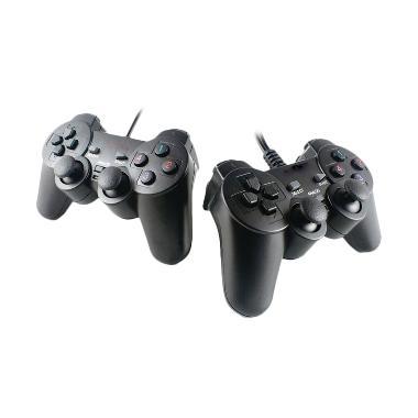 SP Stik Dual Shock Controller Gaming Pad USB for PC (ESMILE DBL)