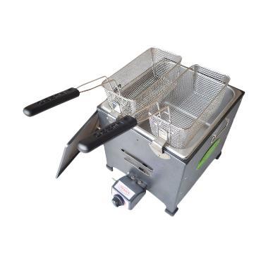 Tenno FRY-220-TR Deep Fryer Gas - Silver