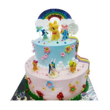 The Sweet Recipe Little Pony Cake