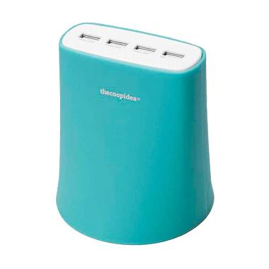 Thecoopidea Jelly Charger - Blue [4 Port USB/5.1A]