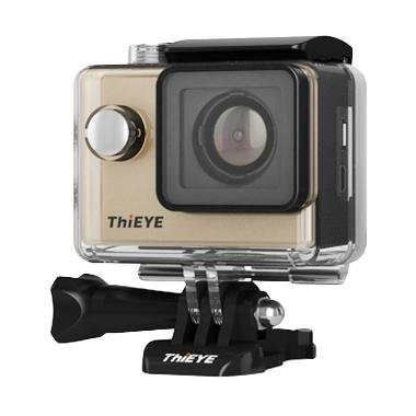 Thieye i60 FHD Action Camera with Image Stabilizer - Gold [12 MP]