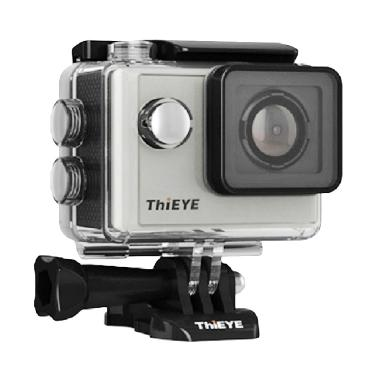 Thieye i60 FHD Action Camera with Image Stabilizer - Silver [12 MP]