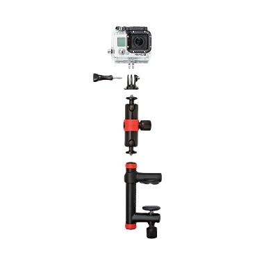 Joby Action Clamp and Locking Arm f ... Pro Xiaomi Yi - Black Red