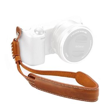 Third Party Kulit Coklat Wrist Strap Kamera for Mirrorless