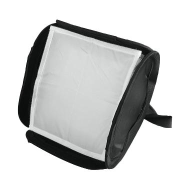 Third Party Mini Portable Softbox Diffusser for Flash [23x23 cm]