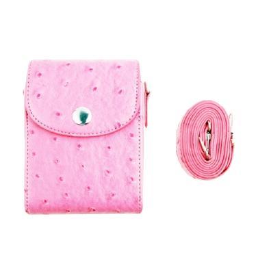 Third Party Motif Grain PU Leather  ... ra Mirrorless - Soft Pink