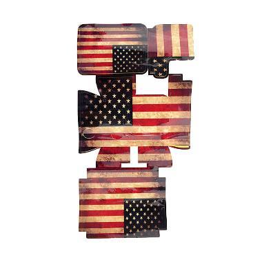 Third Party US FLag Sticker Housing GoPro Hero3