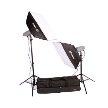 Visico VL-300 Plus Softbox 2 Head 50 x 70 Studio Kit
