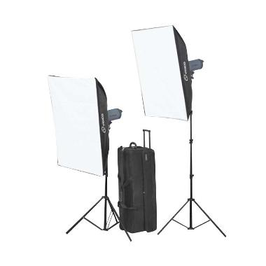 Visico VC 300 HH Softbox Black  Studio Kit  [80x120]