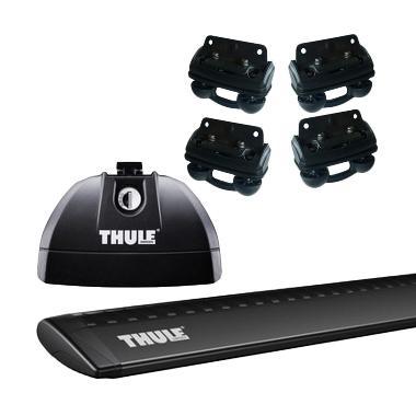 harga Thule Roof Rack Set 2 untuk Honda CRV (Flush Rail) Tahun 2012 - Sekarang Blibli.com