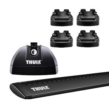 harga Thule Roof Rack Set 2 untuk Mitsubishi Outlander Sport SUV (Flush Rail) 2013 - Sekarang Blibli.com