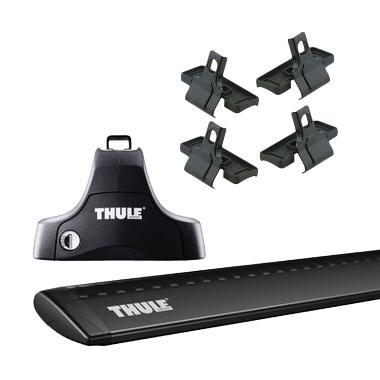 harga Thule Roof Rack Set 2 untuk Mitsubishi Triton Double Cab 2005-2015 Blibli.com