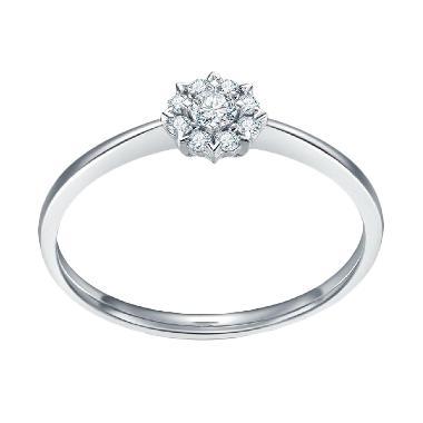 Jual Cincin Berlian Emas Putih Terbaru Harga Murah Blibli Com