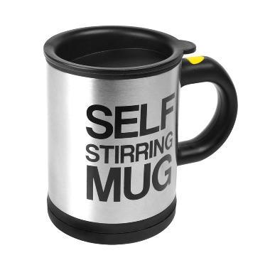 Self Stirring Mug Classic Gelas Pengaduk Otomatis