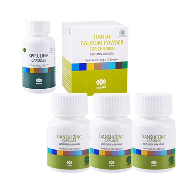 manfaat dan khasiat tianshi zinc capsules suplemen makanan penambah berat badan