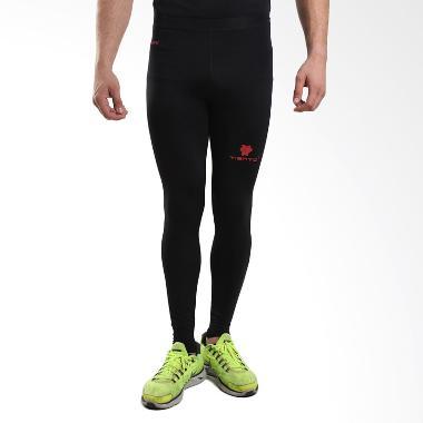 Baselayer Rash Guard Compression Black Red Long Pants Original