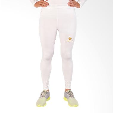 Baselayer Rash Guard Compression Long Pants Original - White Gold