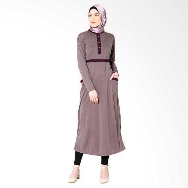 tiras-collection_tiras-gamis-ghaida-dress-muslim---kombinasi-abu-abu_full06 Kumpulan List Harga Gamis Kombinasi Masa Kini Terbaru saat ini
