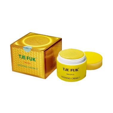 Tje Fuk Washing Cream With Scrub Pembersih Wajah [150 g]
