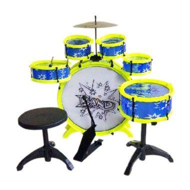 TMO Big Band Drum Mainan Anak - Violet Baby Blue