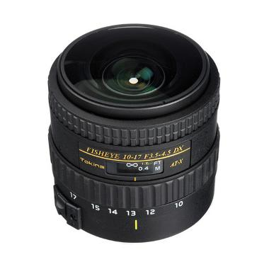 Tokina AF NH 10-17mm f/3.5-4.5 AT-X 107 Fisheye for Canon