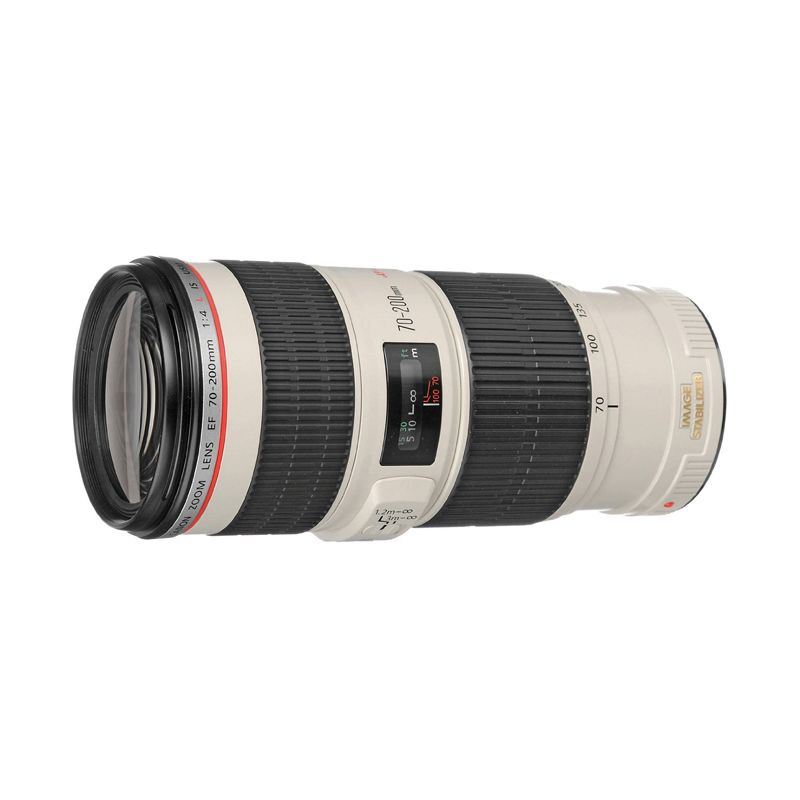 Canon EF 70-200mm f/4L IS USM Black Lensa Camera Tokocamzone