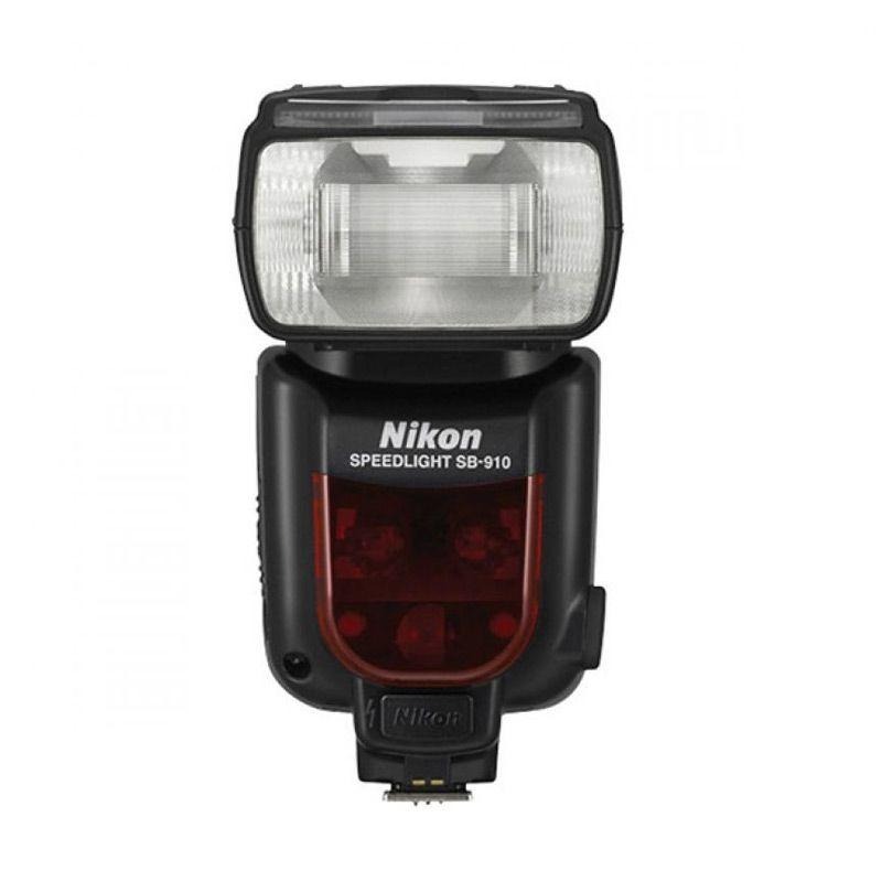 Nikon SB-910 Hitam Flash Kamera [Ga ...