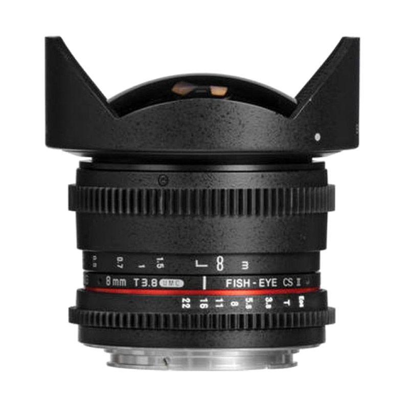 Samyang 8mm T3.8 UMC Fish-Eye CS II ...