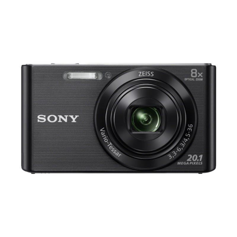 Sony DSC-W830 Hitam Kamera Pocket Tokocamzone