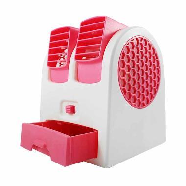 Jual Tokoka dounik Home Double Blower AC Mini Fan - Pink Online – Harga & Kualitas Terjamin | Blibli.com