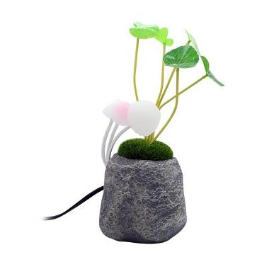 Avatar Resin Mushroom Led Light Lampu Hias