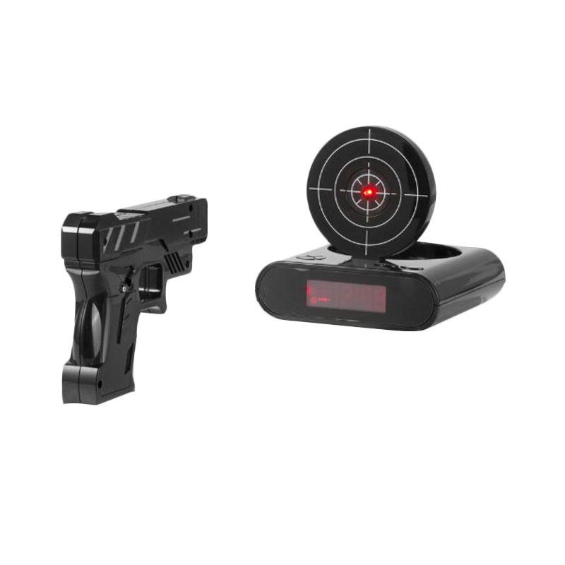 Tokuniku Gun Hitam Jam Alarm        ...