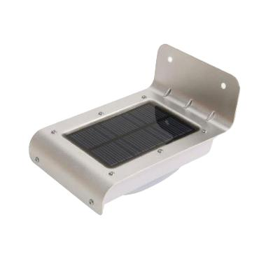 TOKUNIKU Solar Power Motion Sensor Outdoor Lamp [16 LED]