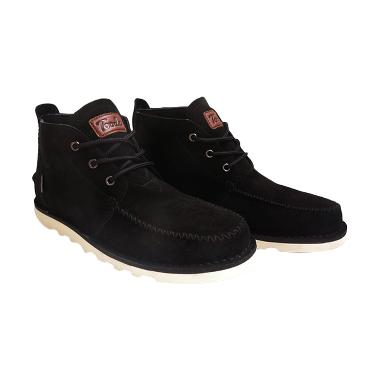 Toods Footwear Novo Mid Cut Boots- Hitam
