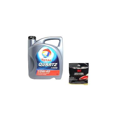 Buy 1 Total Quartz 7000 10W 40 Synthetic Based Oli Pelumas 4 Liter Get 3M Microfibre Detailing Cloth