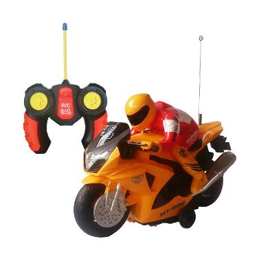 Toylogy 8815-2 Radio Control Motorcycle Mainan Anak - Yellow