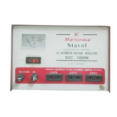 harga Toyosaki SVC-1000N Merah-Putih Stabilizer [1000VA] Blibli.com