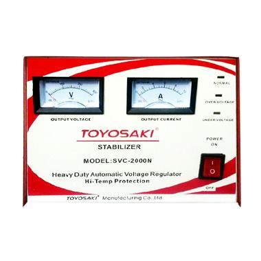 harga Toyosaki SVC-2000N Merah-Putih Stabilizer [2000VA] Blibli.com